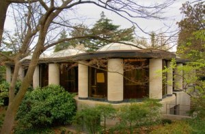 Philip Johnson at Dumbarton Oaks: Figure 1